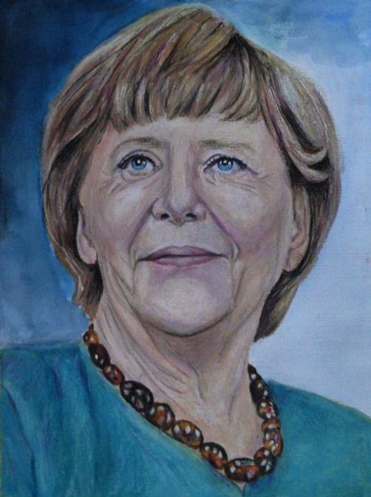 Angela Merkel by Mobee219